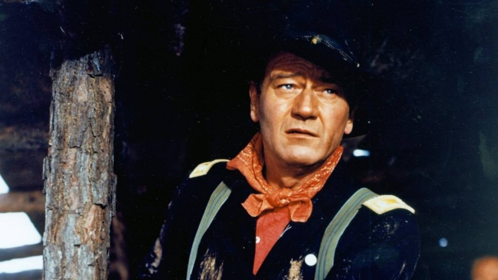 John Wayne The Horse Soldiers